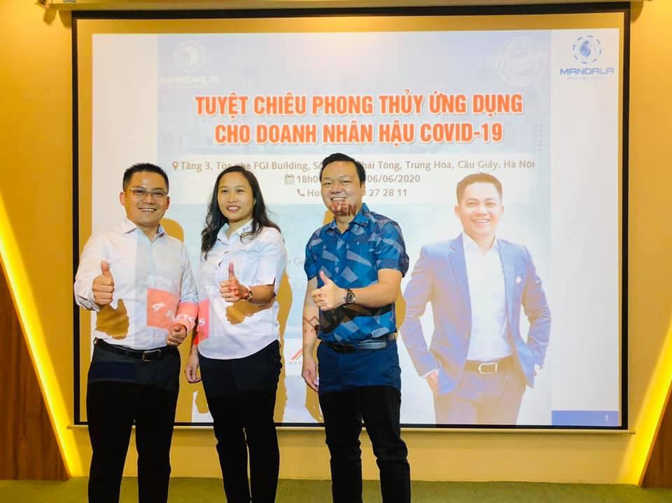 TALKSHOW - TUYỆT CHIÊU PHONG THỦY ỨNG DỤNG CHO DOANH NHÂN HẬU COVID - HÀ NỘI 06.2020