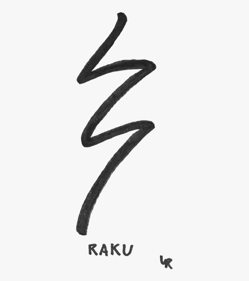Biểu tượng Raku - một trong những đặc trưng của năng lượng vũ trị Reiki (Ảnh: kindpng.com)