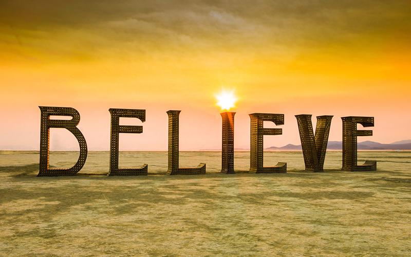 Lòng tin giúp con người vượt qua mọi giới hạn bản thân
