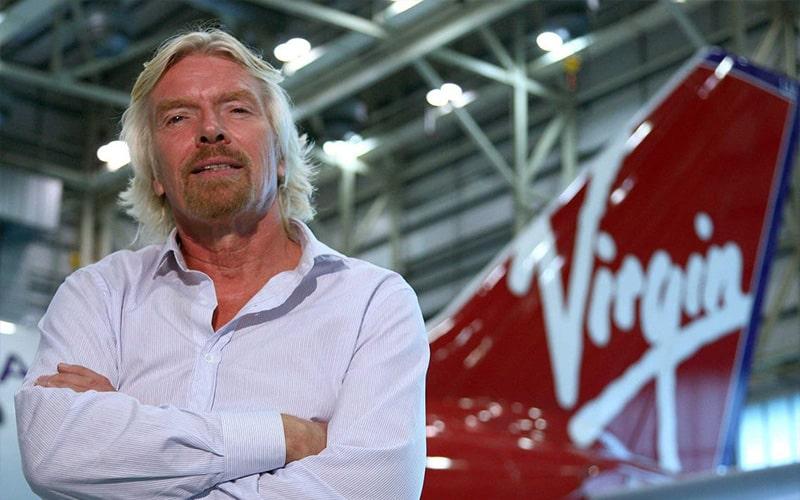 Nguyên tắc thành công của Richard Branson là không sợ thử nghiệm những điều mới mẻ.