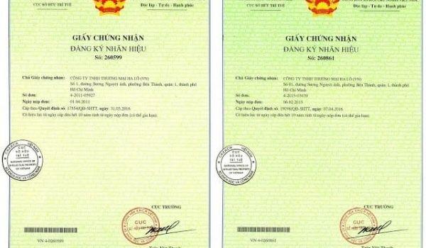 Tên được pháp luật bảo hộ ( đăng ký sở hữu trí tuệ )