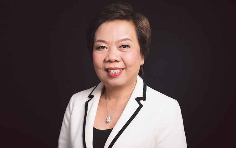 """Bà Trương Thị Lê Khanh hay được nhắc đến với danh xưng """"bà trùm"""" cá tra Việt Nam."""