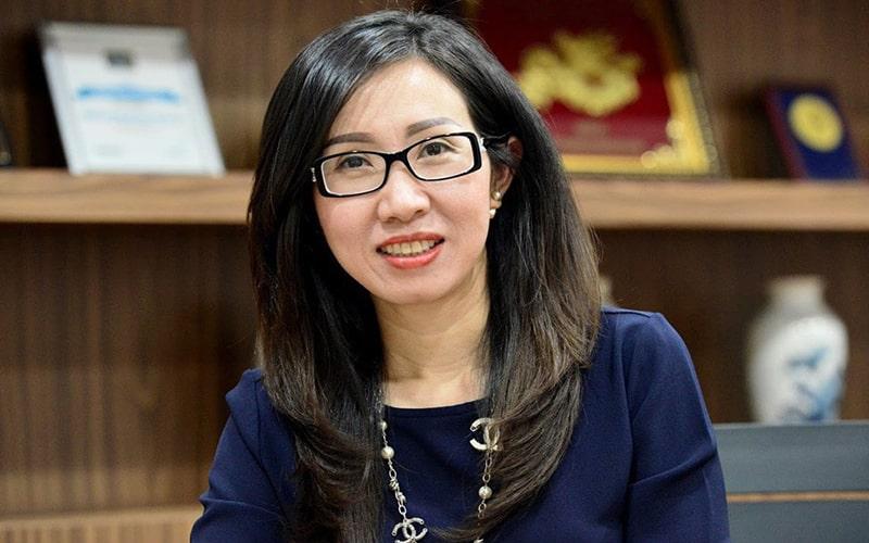Bà Trần Thị Lệ cùng các cộng sự đã 2 lần vực dậy NutiFood thành công.