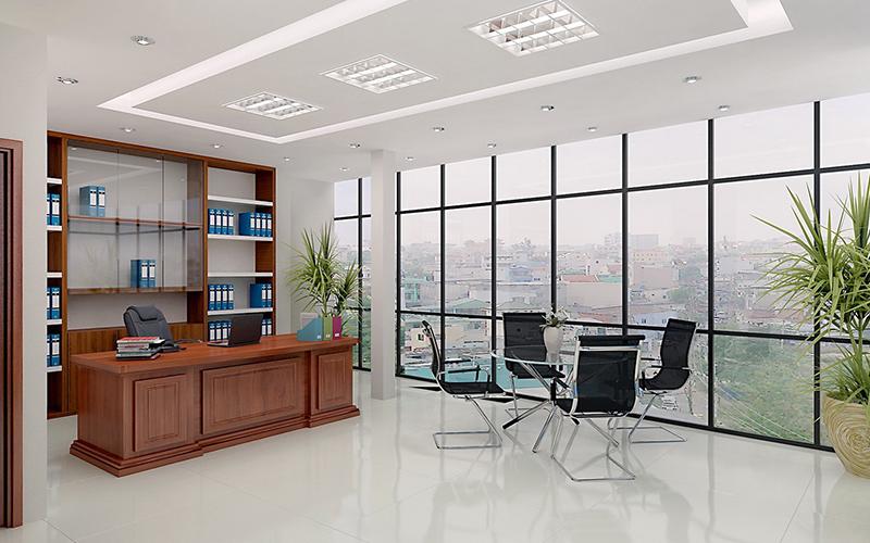 Phòng làm việc của lãnh đạo cần được bố trí ở khu vực riêng